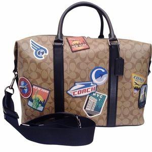 NEW $750 COACH TRAVEL DUFFEL BAG